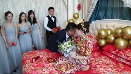 辽宁22岁一美女出嫁,新郎是大老板,有钱人又帅