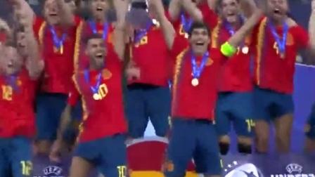 加冕桂冠!欧洲各项足球锦标赛夺冠举杯瞬间