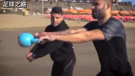 足球教学丨职业球员训练:赫塞·罗德里格斯·鲁伊斯训练