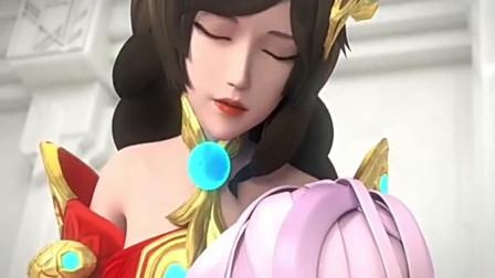 王者荣耀搞笑动画:鲁班太可恶,居然对小乔妹