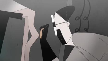 恶搞动画《人类维修医院》,小伙用创可贴治骨