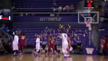 篮球场上有一种利器叫坐地炮,但这个是我见过最纯正的!