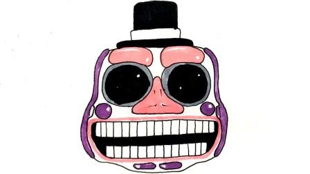 怎么样至画音乐男子动画电子头(FNaF6)弗雷迪