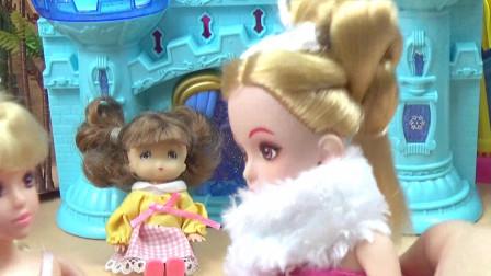 《芭比娃娃过家家:举行烧烤聚会》亲子睡前故事