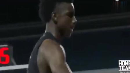 美国街头扣篮大赛,迪亚洛PK16岁锡安,不输N*A扣篮大赛!