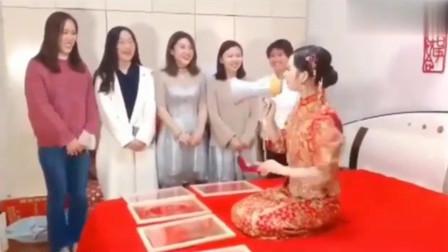 第一次结婚,没什么经验,婚礼现场搞笑视频大