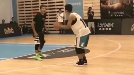 打篮球防守人不吃晃?不存在的