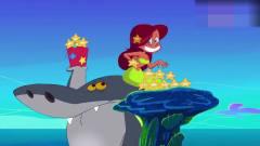 搞笑动画:当美人鱼出题的时候,鲨鱼哥和鬣狗