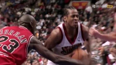 《 N*A》巨星必杀技09》AllenIverson艾弗森Crossover新秀AI戏耍篮球上帝【1】