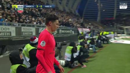 法甲:巴黎4-4被亚眠逼平 让三追四+遭补时绝平