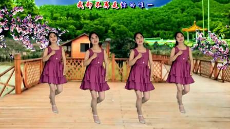 气质美女广场舞《再见吧我最爱的你》伤感情歌