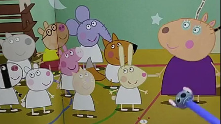 同学们上体育课,小狗和小兔不知跑哪了,乔治