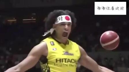 """今年的日本扣篮大赛,动作不怎么样,但是这"""""""