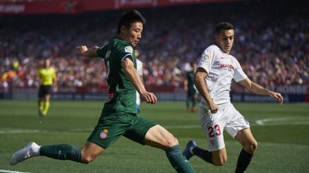 中国的C罗啊!武磊西甲反超破门什么水平?世界级停球1V2推射进球