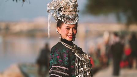丹寨美女日常服饰穿着