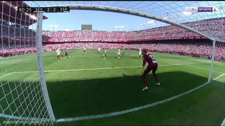 西甲:西班牙人2-2塞维 武磊取联赛客场首球苏索传射
