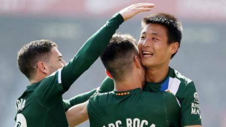 武时已到!武磊再次在西甲联赛破门,武球王威武!