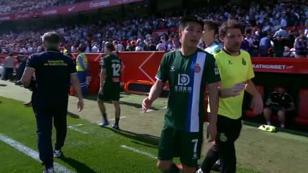 西甲塞维利亚对阵西班牙人比赛集锦,武磊首发破门获全场最佳!