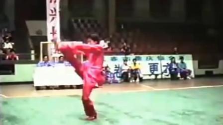 1992年全国武术套路锦标赛—吴京(通臂拳)
