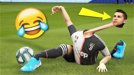 FIFA2020搞笑、精彩进球合集,这不仅仅是一款足球游戏,
