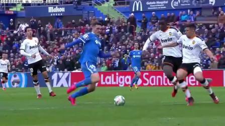 西甲联赛赫塔菲vs巴伦西亚-精彩集锦
