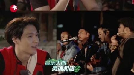 我们在行动:张艺兴和佤族音乐人教练音乐,希