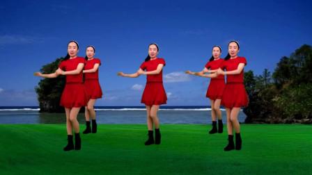 气质美女广场舞《别等多年以后》火爆情歌健身