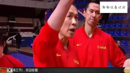 中国女篮40分大胜韩国三连胜直通奥运会,许导暴