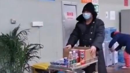 """武汉:""""香烟饮料矿泉水!"""" 最皮患者拍搞笑视"""