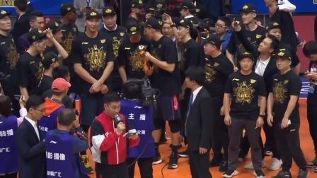 广东夺冠,也让广东夺得9冠让他们的青训新老交替取得了最完美的呈现