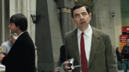 憨豆:憨豆去法国度假,什么都拍,真是太幽默
