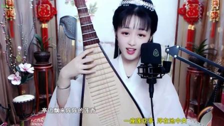 """#音乐最前线#靓丽美眉说这首歌当中的""""一把古琴"""