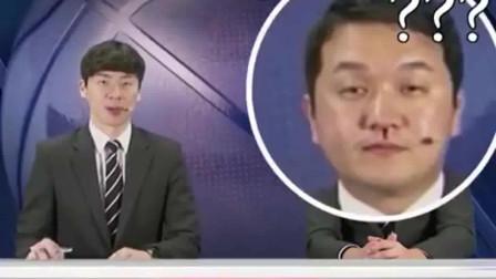 韩国篮球直播时,男主播鼻子流血仍淡定直播,我想问韩国拉拉队这么猛吗?