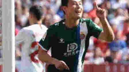 """""""武""""与伦比!武磊打入关键进球,入选西甲第24轮最佳阵容"""