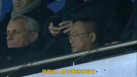 武磊在西甲踢得越来越好了,闪电速度配合超强脚法,西班牙人老板高兴的合不拢嘴!