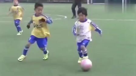 日本幼儿园孩子足球是啥水平?国足都看不下去了
