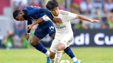 武磊压力来了!18岁日本新星西甲造3球,皇马成赢家,巴萨哭晕