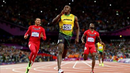 4乘100米美国队把博尔特逼急了,全力加速怒破世界纪录