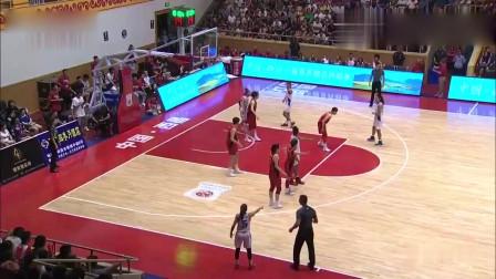 国际女篮竞标赛 中国女篮在西昌强势击败波多黎各