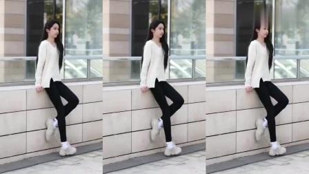 微胖女神街头热舞,身材棒极了,摄影师表示太好看了!
