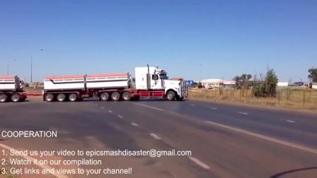 澳洲公路列车 - 各种超长卡车拖挂货柜 街拍