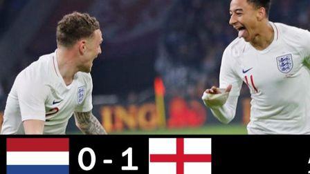 【国际足球热身赛】荷兰对阵英格兰,林加德处子球获胜 2018 03 24高清集锦