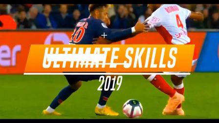 18-19赛季骚断腿最强足球技艺,麻麻问我为什么跪着看
