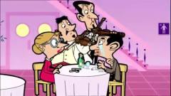憨豆先生:憨豆带美女去吃饭,吃到人家关门,