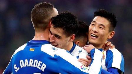 """武磊又一次""""笑傲""""西甲赛场,进球后出现罕见一幕,不再只是进球"""