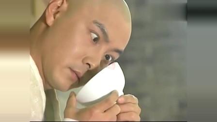 少年张三丰:美女将碗扔给张君宝,君宝看着碗