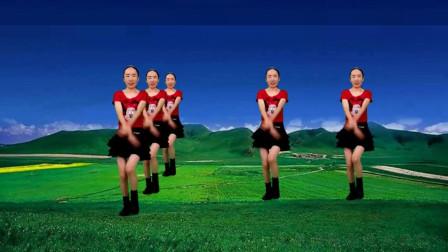 气质美女广场舞《亲爱的你在哪里》DJ情歌健身舞