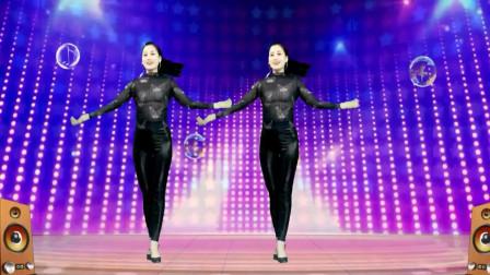 气质美女广场舞《慕夏DJ》完整版舞蹈,轻松弹跳