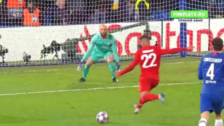 欧冠切尔西对阵拜仁比赛集锦:格纳布里双响莱万建功蓝军主场完败!