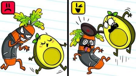 牛油果搞笑动画:吃货的自我修养这才是一个合